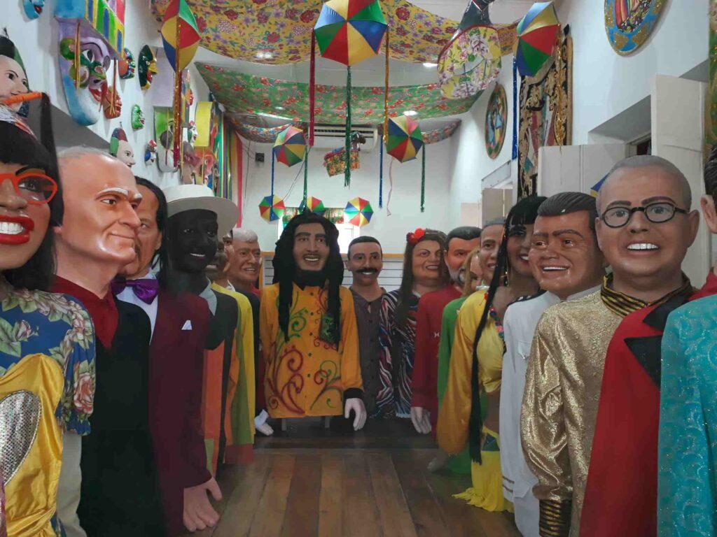 Bonecos gigantes de Olinda, o que fazer em Pernambuco