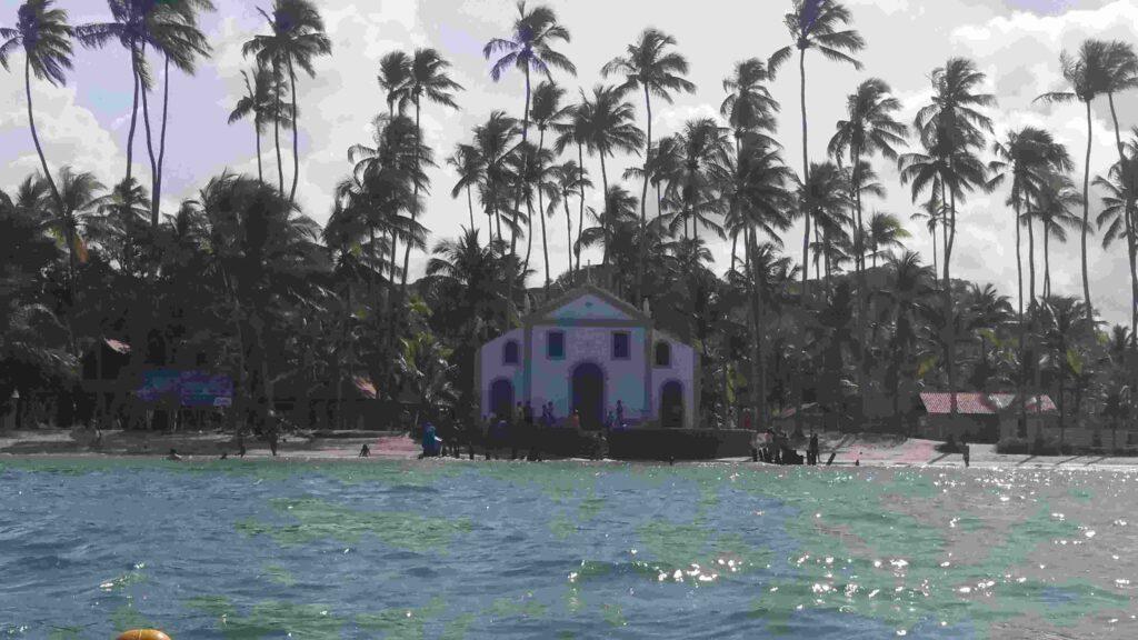 Capela São Benedito Praia dos Carneiros Pernambuco