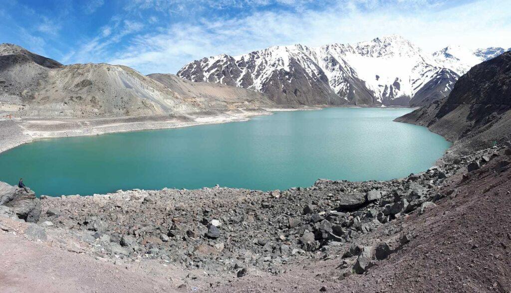 Elbalse El Yeso, o que fazer no Atacama