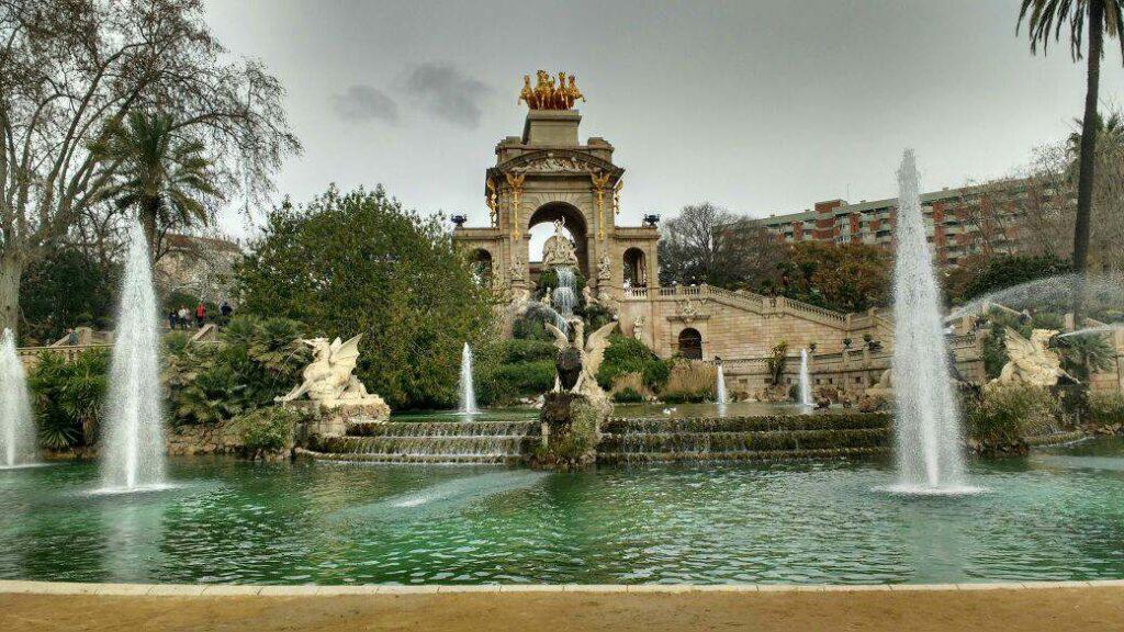 Parc de la Ciutadella, em Barcelona