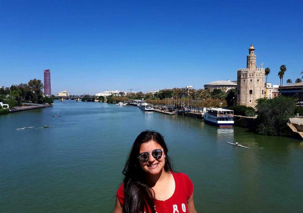 Rio Guadalquivir em Sevilha, melhores lugares da Espanha