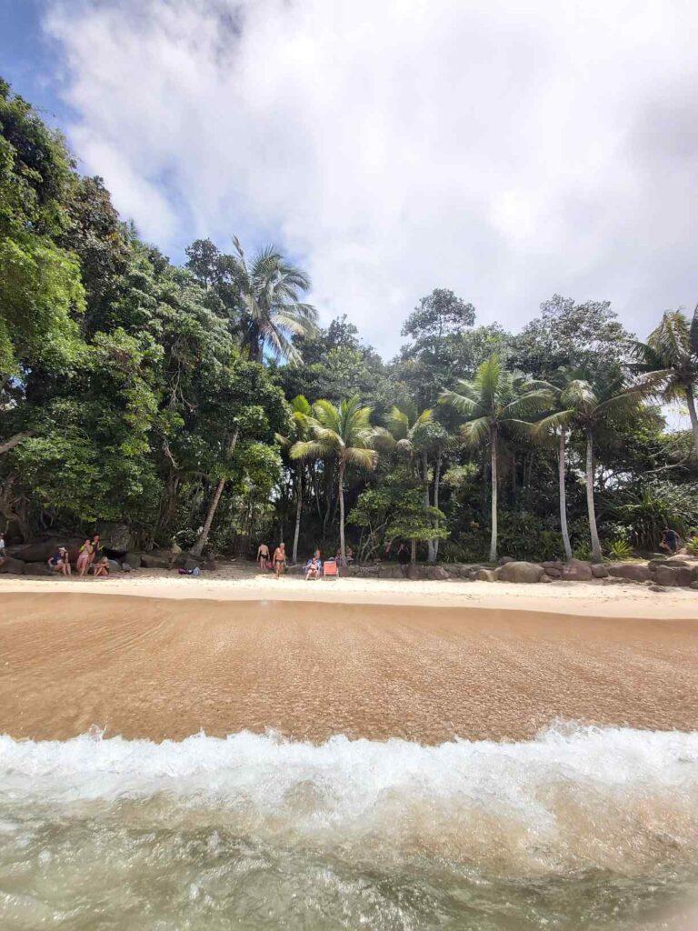 Praia do Português ao lado da Praia do Félix