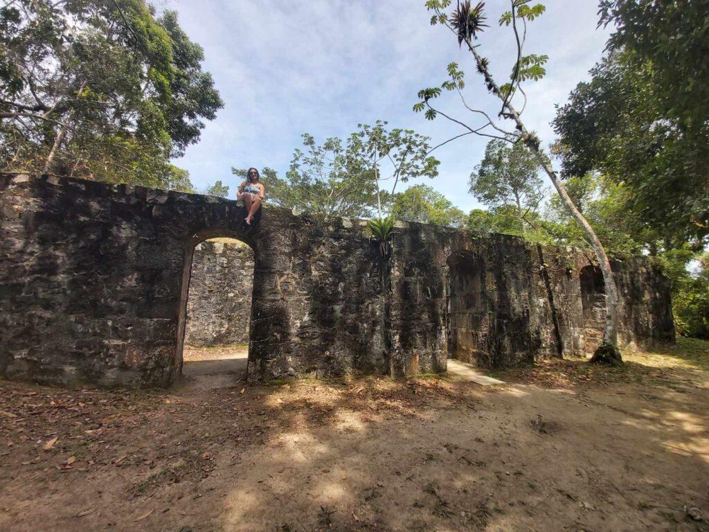 Ruínas Fortaleza Ilha do Mel