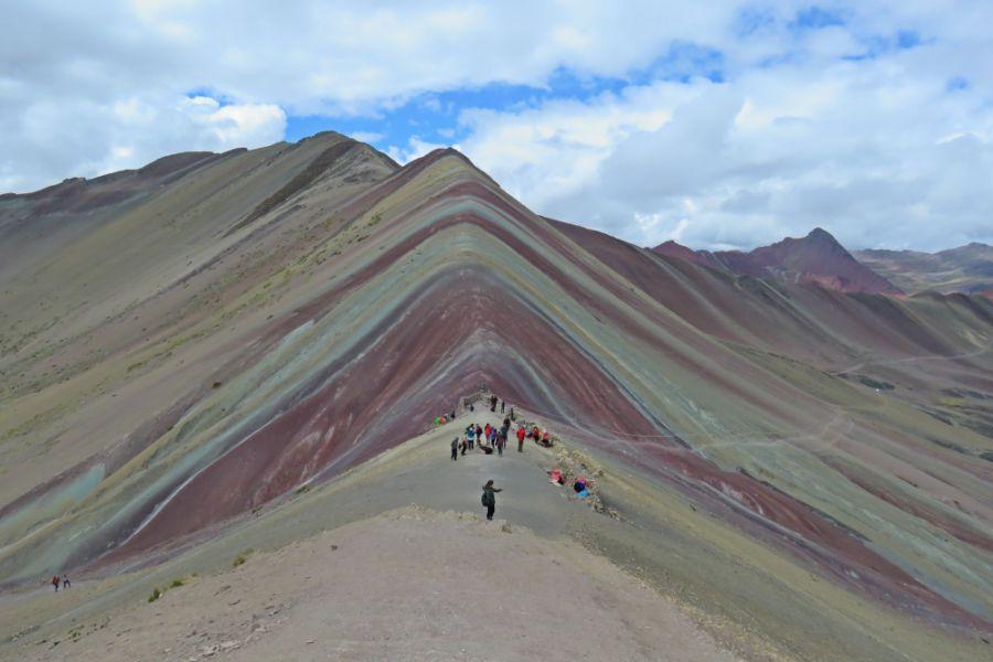Montanha do Arco Íris no Peru
