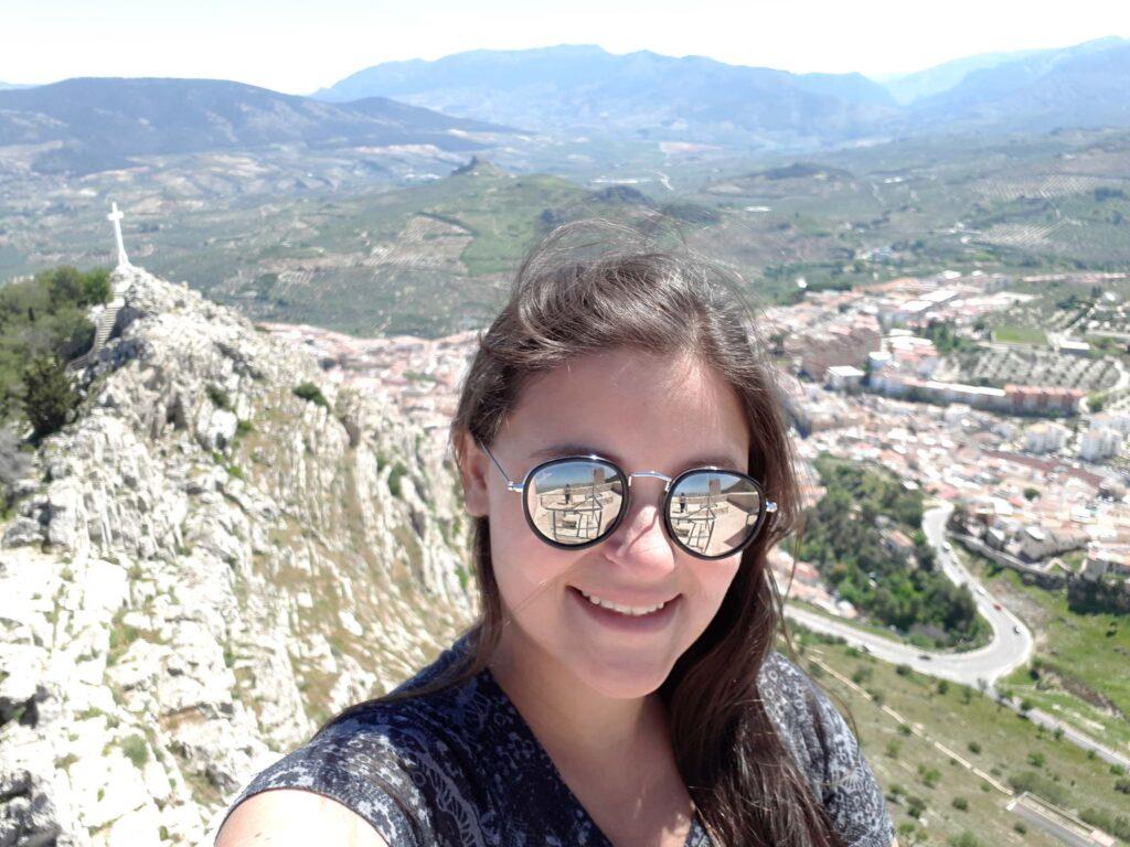 Castillo de Santa Catalina em Andaluzia Espanha