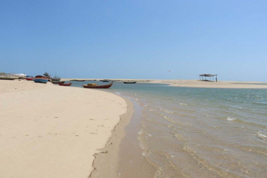 Praia do Macapá no Piauí